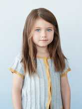 Laden Sie das Bild in den Galerie-Viewer, As We Grow Cardigan kurzarm Pointelle Organic Cotton