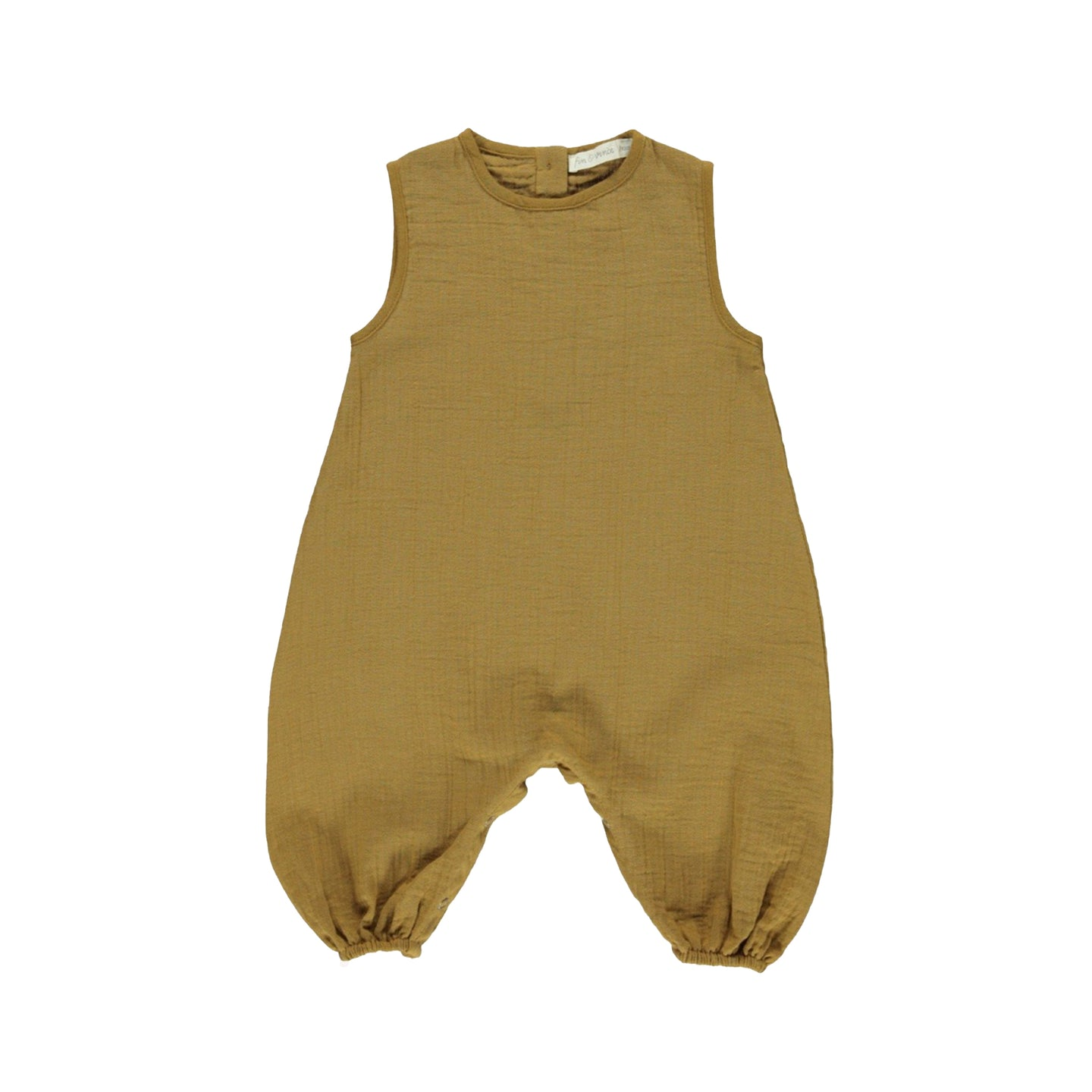 Fin & Vince Jumpsuit Baby lang Organic Cotton Musselin