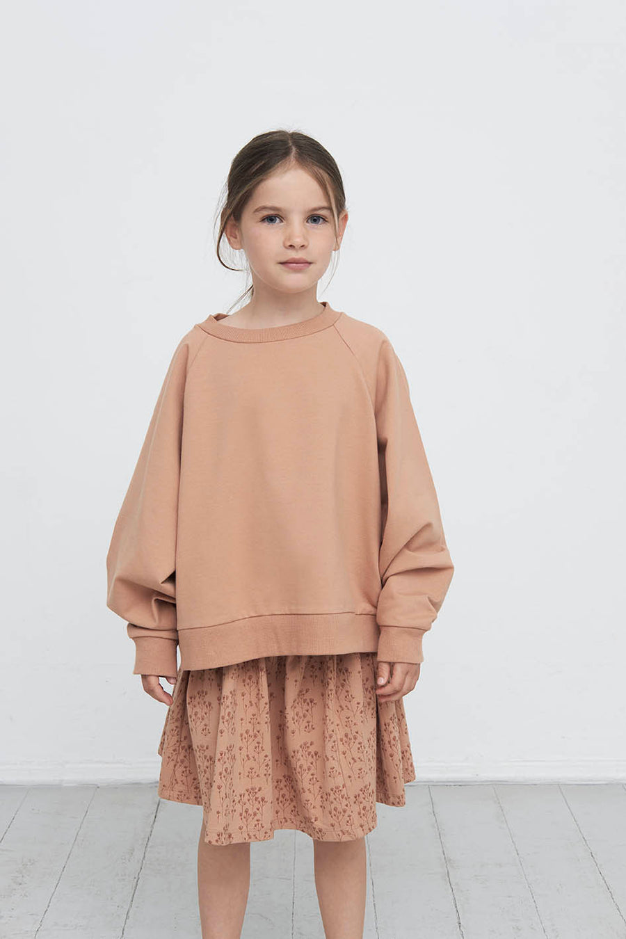 Gro Oversized Pullover Nini Cropped Cotton