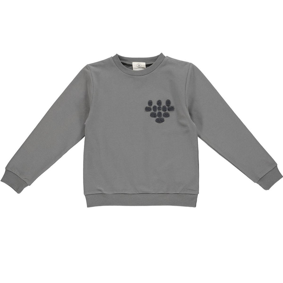 Gro Sweatshirt Mads bestickt Cotton
