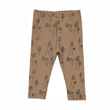Gro Leggings Malak mit Pilz Print Cotton