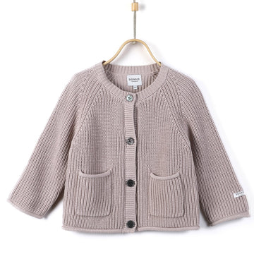 Donsje Grobstrick Cardigan Harper Cotton