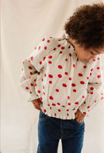 Laden Sie das Bild in den Galerie-Viewer, Fin & Vince Bluse Organic Cotton Musselin