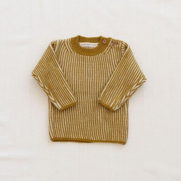 Fin & Vince Pullover gerippt Organic Cotton