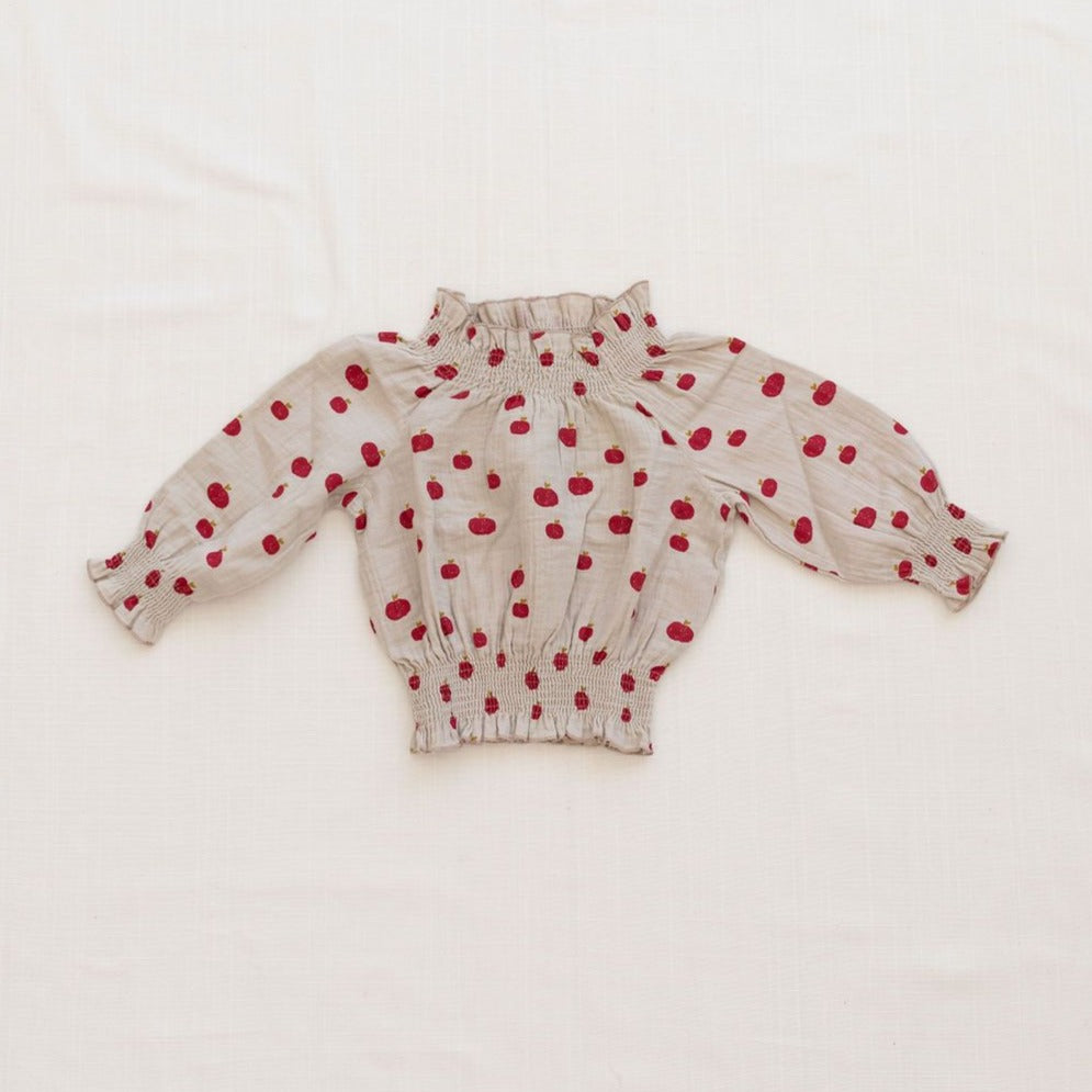 Fin & Vince Bluse Organic Cotton Musselin