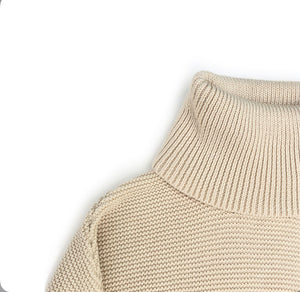 MONKIND Oversized Pullover Neutral gestrickt Organic Cotton