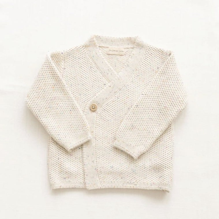 Fin & Vince Strick Cardigan Cotton