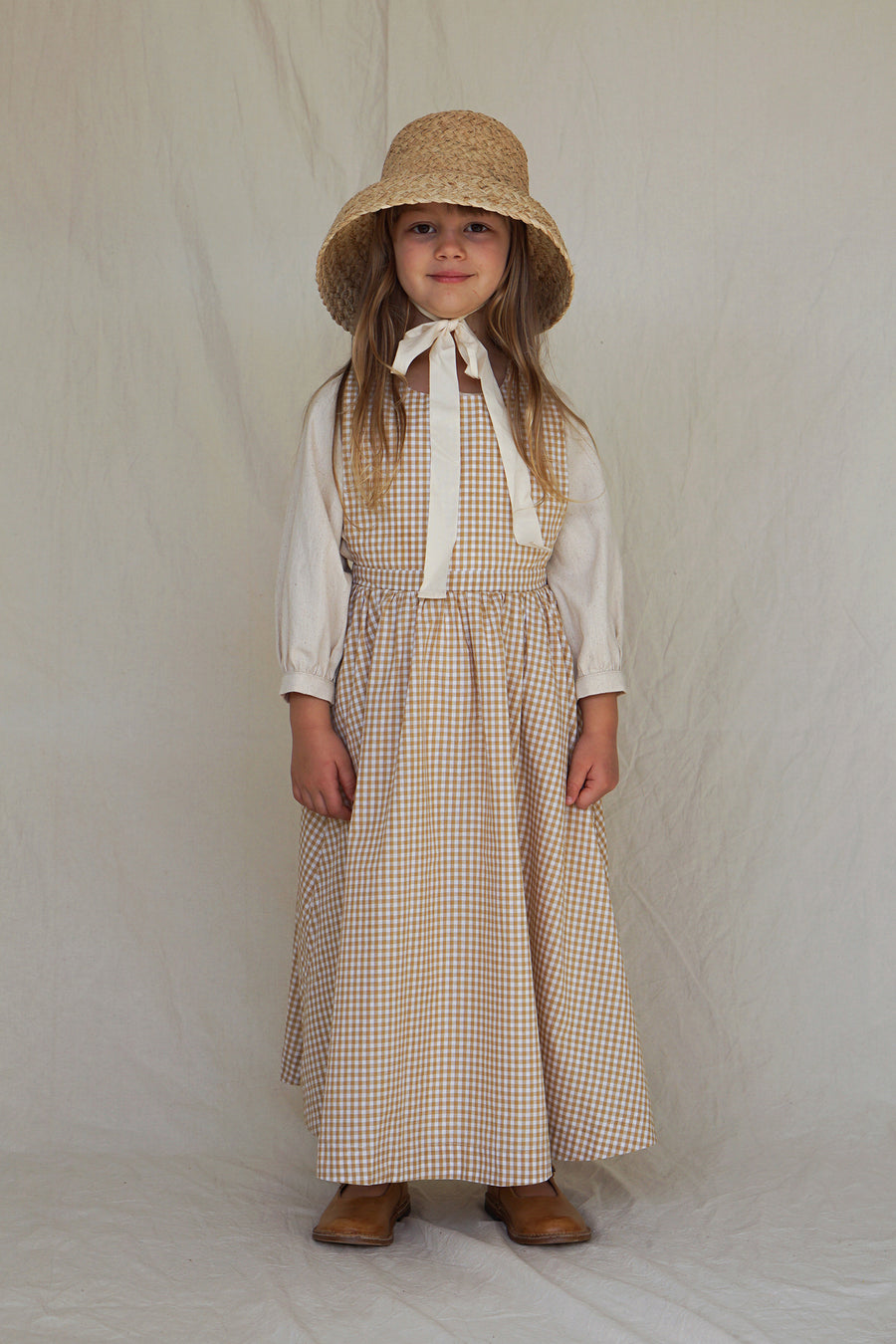 House of Paloma Kleid Juliette Pinafore Checked