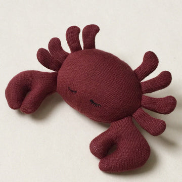 Konges Sløjd Rassel Crab Organic Cotton