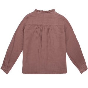 The New Society Bluse Lua Cotton Musselin