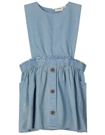 Lil`Atelier Kleid Chambray NMFINGRID Organic Cotton