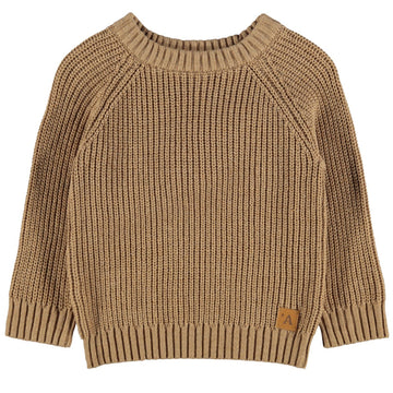 Lil`Atelier Grobstrickpullover  NMMIMILIO Organic Cotton