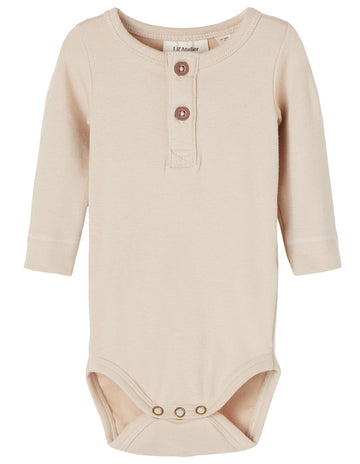 Lil`Atelier Langarm Body NBMINGO Organic Cotton