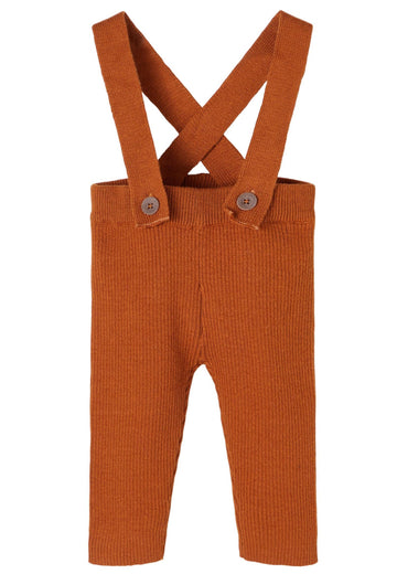Lil`Atelier Overall NBMIVIGO mit abnehmbaren Trägern Organic Cotton/Wolle