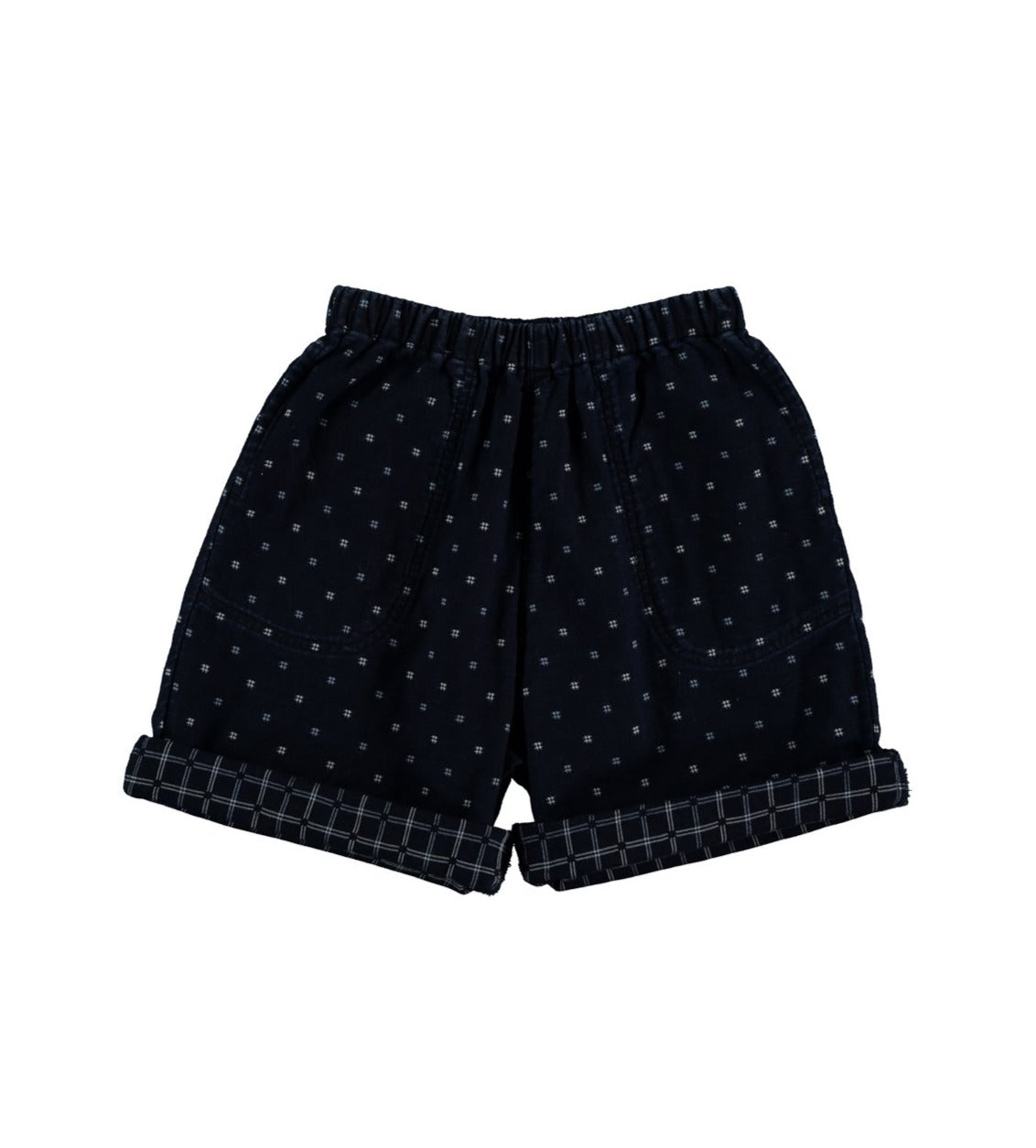 The New Society Shorts mit elastischem Bund Cotton