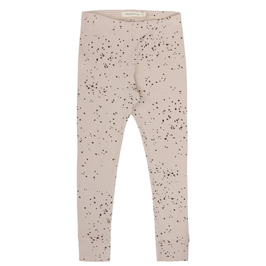 Phil&Phae Leggings gerippt Organic Cotton