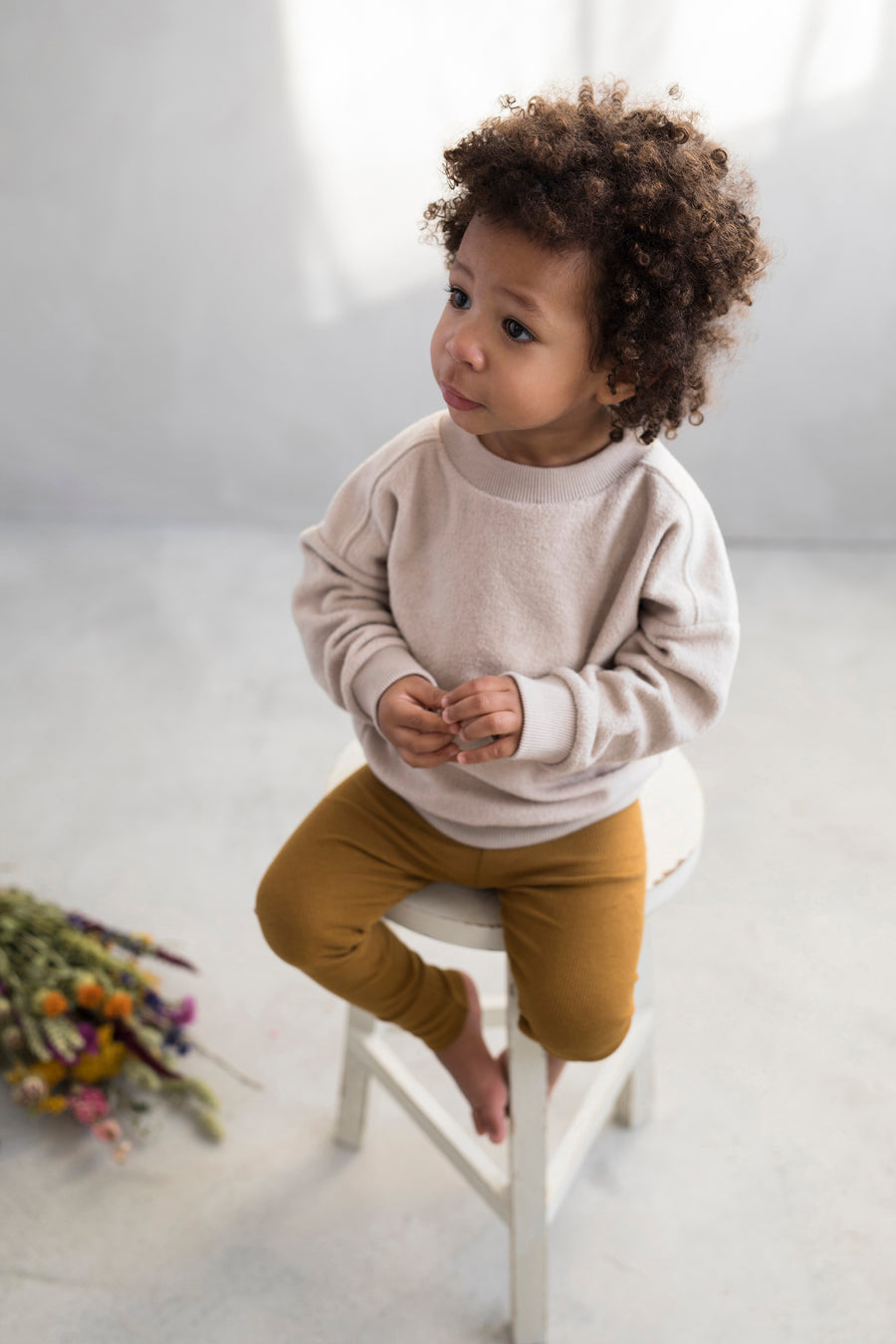 Phil&Phae Pullover Teddy Oversized Organic Cotton