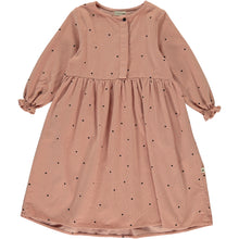 Laden Sie das Bild in den Galerie-Viewer, My Little Cozmo Kleid Feincord Dots Cotton