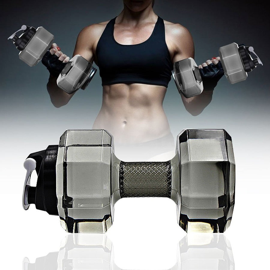 2.2L Dumbbell Water Bottle