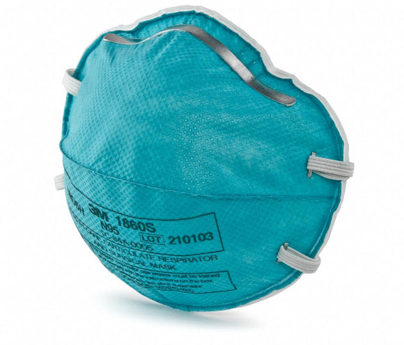 N95, Disposable Healthcare Respirator, Molded, S, 20 Count