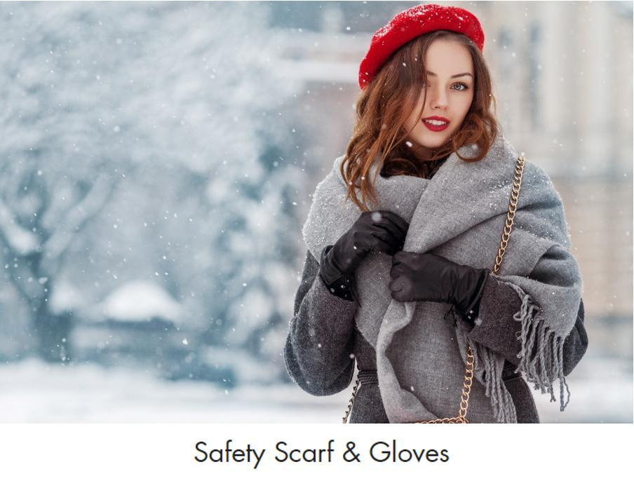 Safety Scarf & Gloves - Chiki Diki