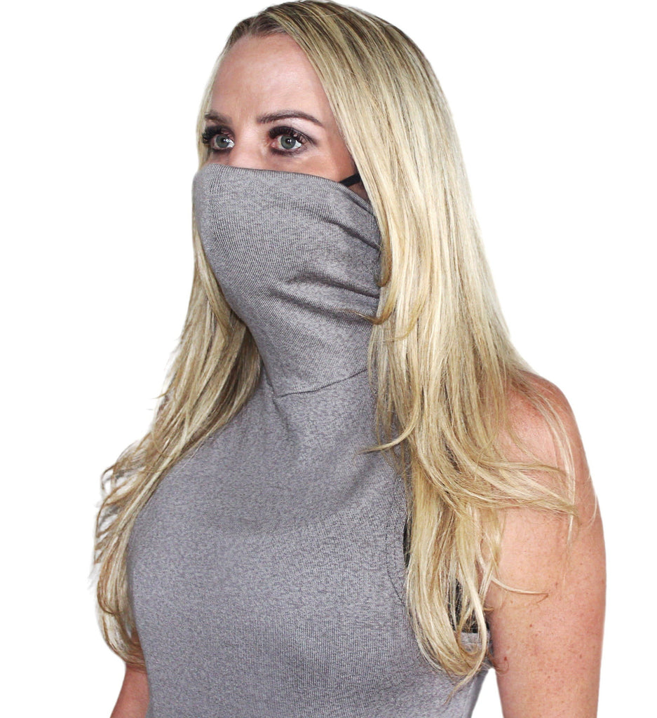 Turtle Neck with Built in Mask - Chiki Diki