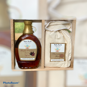 Outstanding Syrup and Pancake Combination-Maple Praline Syrup