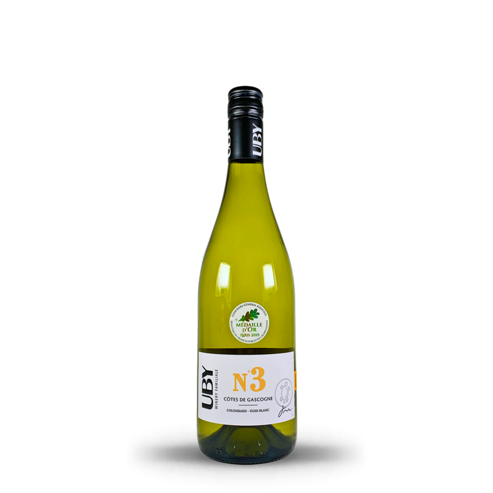 No.3 COLOMBARD UGNI BLANC 2019 | DOMAINE UBY | GASCOGNY, FRANCE