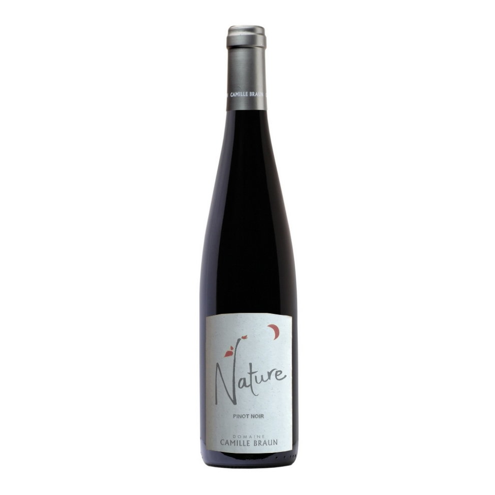 Delivery 18th December - WINE OF THE WEEK PAIRED WITH MAIN PINOT NOIR 'NATURE' 2019 | CAMILLE BRAUN | ALSACE, FRANCE