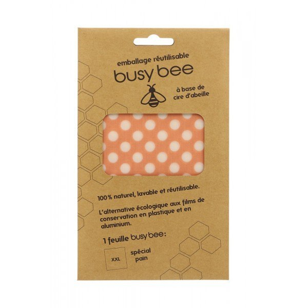 Busy bee emballage réutilisable xxl