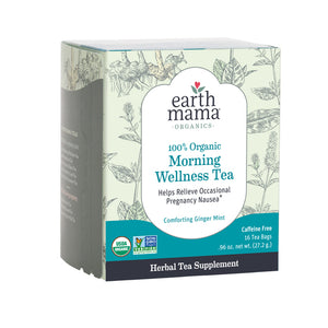 New Earth Mama Morning Wellness Tea