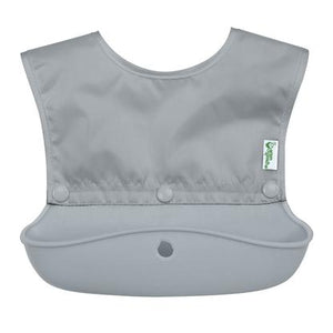 New Greensprouts Snap & Go Silicone Bib