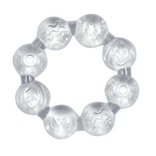 New Greensprouts Cooling Ring Teether Clear