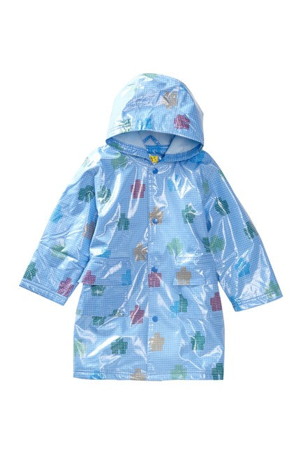 NEW Pluie Pluie Raincoat Robot Fleece Lined