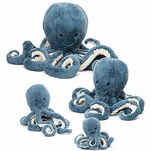 New Jellycat Octopus Storm (Multiple Sizes)