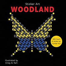 Load image into Gallery viewer, New Sticker Art Book: Woodland, Savanna, Jungle, Ocean