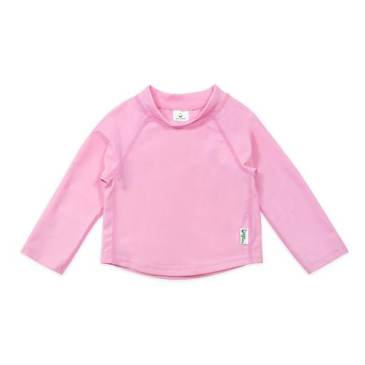 New I Play Rashguard Top Long Sleeve Light Pink