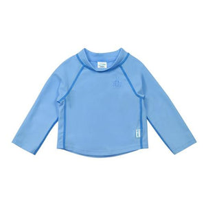 New I Play Rashguard Top Long Sleeve Aqua