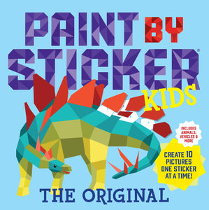 New Activity Books: Paint by Sticker Kids