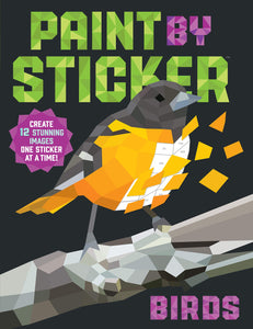 New Activity Book: Paint By Sticker