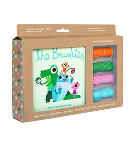 New Brushies Full Set Toothbrushes and Book