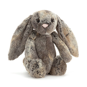 "New Jellycat Bashful Bunny Medium 12"" Woodland"