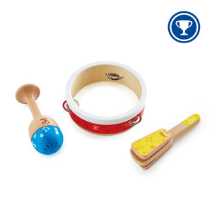New Hape Percussion Set Jr Wood Toy