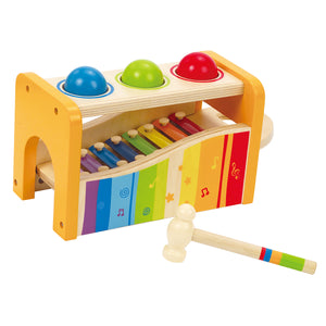 New Hape Pound and Tap Bench Wood Toy Xylophone