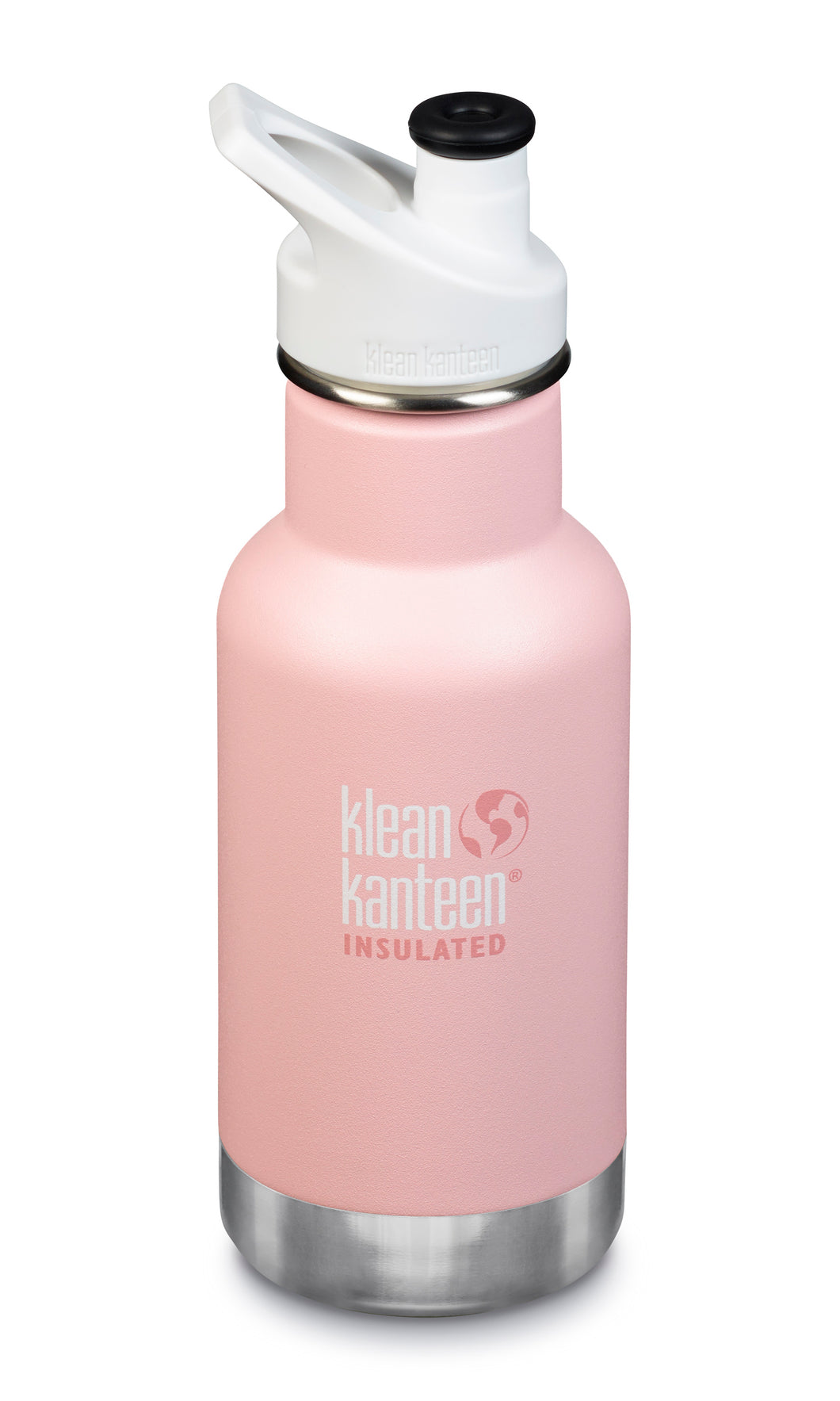 New Klean Kanteen Water Bottle Insulated 12 oz Stainless Steel