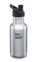 Load image into Gallery viewer, New Klean Kanteen 18 oz Sport Cap Water Bottle Non-Insulated