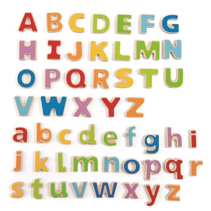 New Hape ABC Magnetic Letters Wood
