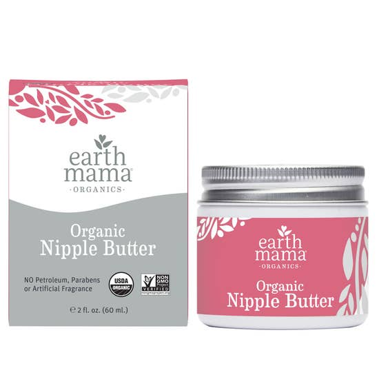 NEW Earth Mama Baby Nipple Butter 2 oz.