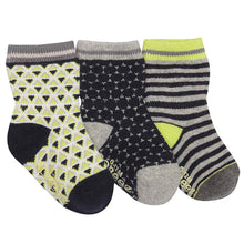 Load image into Gallery viewer, New Robeez Boys Socks 3 Pack: Multiple Styles