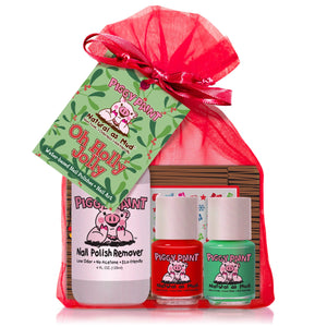 New Piggy Paint Holly Jolly Christmas Nail Polish Set